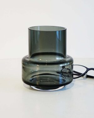 2018-098-Modern-Small-Dark-Gray-Vase