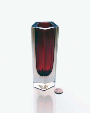 2018-235-red-sommerso-pentagon-vase
