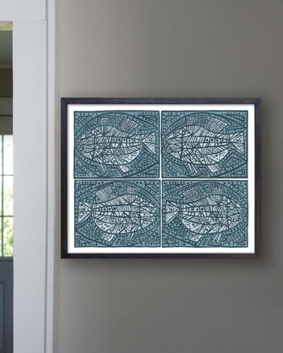 2018-265-kubach-four-blue-fish-patterned