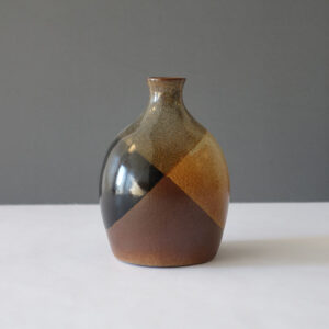 Pottery Craft Onion Dome Bud Vase