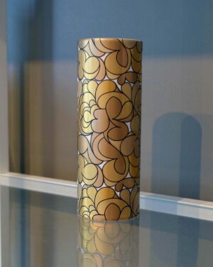 2018-326-Bjorn-Wiinblad-Rosenthal-Studio-Linie-gold-vase