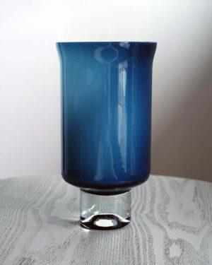 2018-330-venini-style-columnar-blue-cased-glass-pedestal-vase
