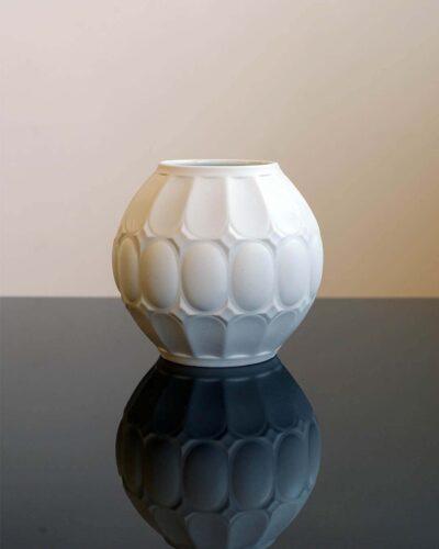 2018-397-german-white-op-art-bisque-porcelain-ball-vase
