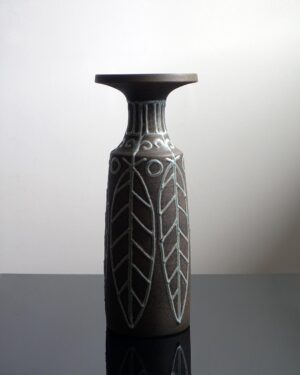 2018-418-Keruska-Keramik-West-German-Vase-Marked-Ontario