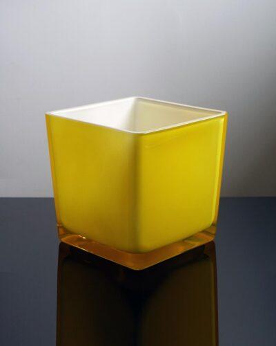 2018-419-vintage-yellow-cased-glass-large-ice-bucket