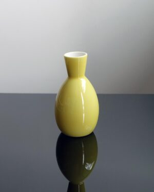 2018-424-japanese-yellow-sake-pitcher-bud-vase-feelie-weed-pot