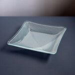2018-435-square-Lausitzer-Glas-Kristall-GDR-op-art-bent-glass-dish