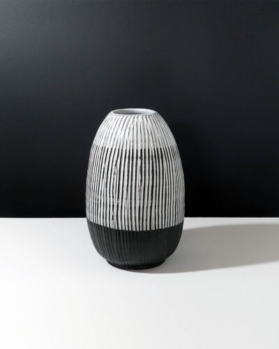sgraffito-striped-stoneware-XL-vase