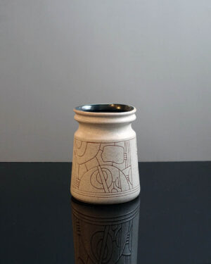 lapid-israel-abstract-sgraffito-vase
