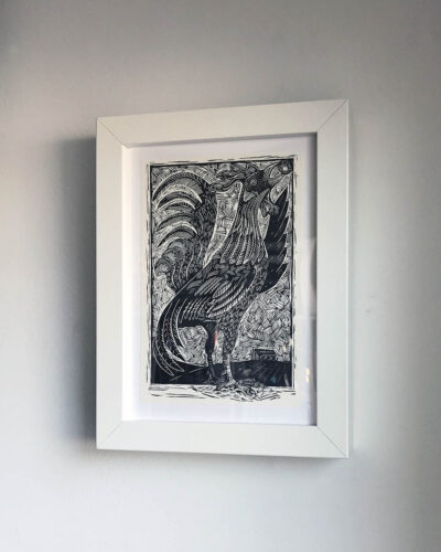 Sanders-Chicken-Dust-Woodcut