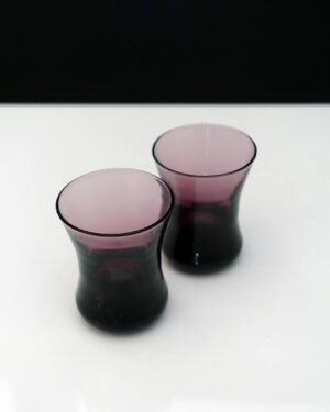 flared-cordial-glasses-amethyst
