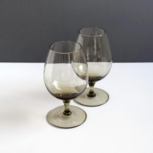 west-german-crystal-gray-goblets