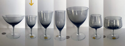 west german crystal glasses