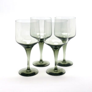 Orrefors Rhapsody Sweden Crystal Glasses-C4