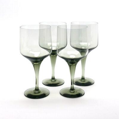 Orrefors Rhapsody Sweden Crystal Glasses-C4