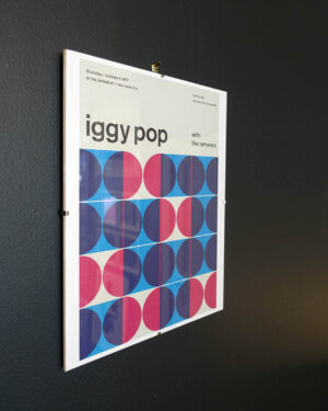 Iggy Pop Concert Poster Reimagined-2