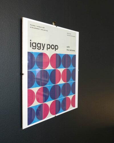 Iggy Pop Concert Poster Reimagined-2