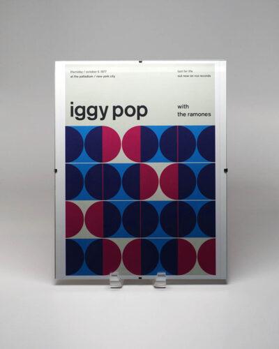 Iggy Pop Concert Poster Reimagined