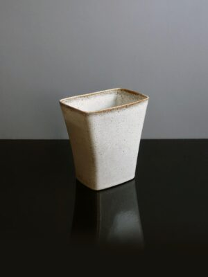 ballard-pottery-speckled-gray-vase-planter