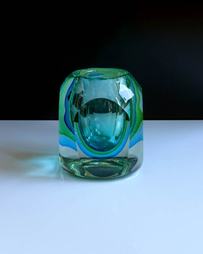 murano-flavio-poli-green-blue-block-votive-trinket-paper-weight