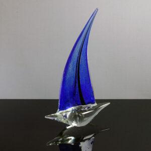 murano-style-art-glass-schooner-blue-sail-01