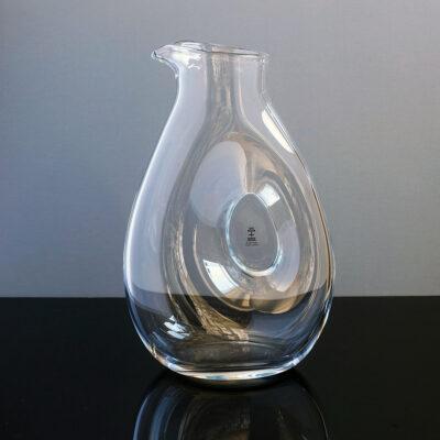 skruf-sweden-blown-glass-pitcher-decanter