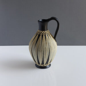 Gmundner Keramik Austria Raffia Wrapped Pitcher