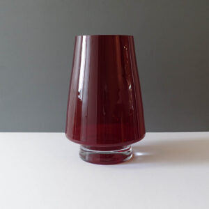 xxl-ruby-red-pedestal-glass-vase