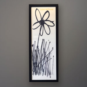 lopez-good-morning-black-frame-wall