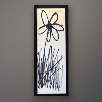 lopez-good-morning-black-frame-wall