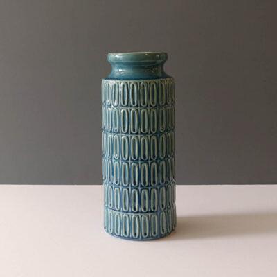 ocean-blue-columnar-mod-gloss-ceramic-vase