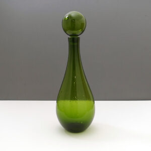 green-tall-ball-stopper-decanter
