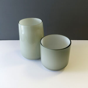 large-small-gray-over-white-cased-glass-vases
