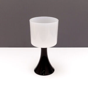white-cased-glass-elevated vase-planter