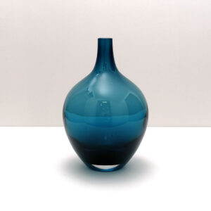 ikea-salong-medium-deep-blue-mouth-blown-vase