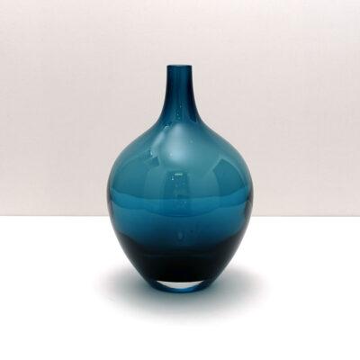 ikea-salong-medium-deep-blue-mouth-blown-vase