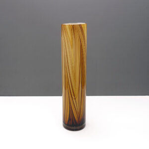 swirl-striped-columnar-earthtone-cased-glass-vase