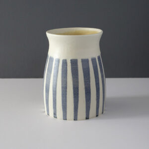 larger-gray-striped-studio-pottery-vessel
