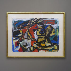 willy-leo-bouthoorn-abstract-work-on-paper-1957