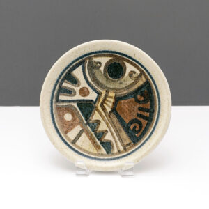 lapid-israel-wall-abstract-studio-pottery-plate-signed
