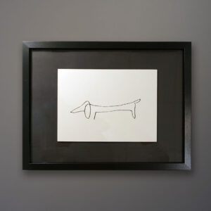picasso-dachshund-drawing