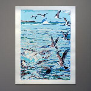 1970s-seagulls-silkscreen-print-18x24