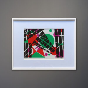 1970s-t-sayer-abstract-silkscreen-print-framed
