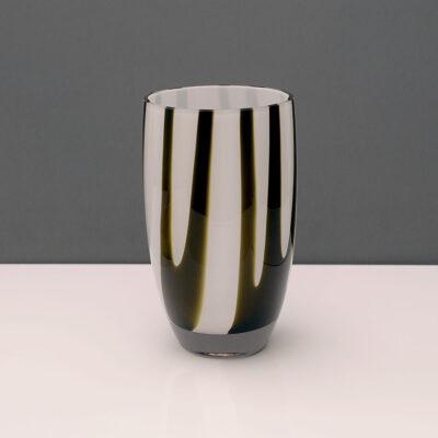 black-white-art-glass-vase