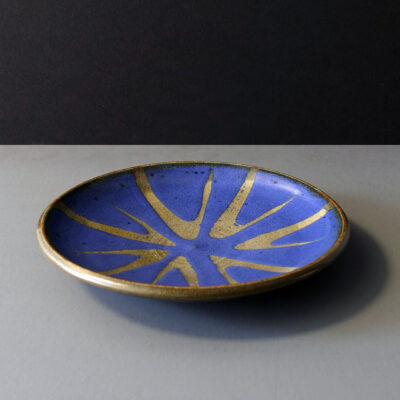 danish-blue-starburst-serving-plate