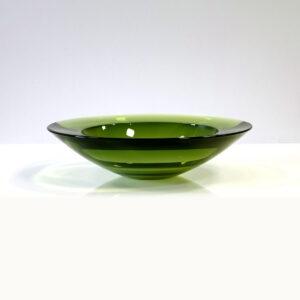 green-murano-round-geode-shallow-bowl