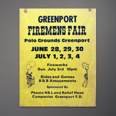 greenport-firemens-fair-13.5x17.5-vernacular-poster