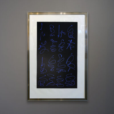 hixon-blue-lines-on-black-in-steel-frame-wall