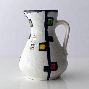 West German Jasba Mondrian Style Pitcher-1