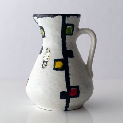 West German Jasba Mondrian Style Pitcher-1